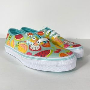 Vans Authentic Glitter Fruits Sneakers